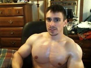 Tony d natural rasgado y culturista magra le dice que vaya al gimnasio!