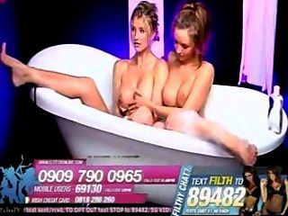Danica thrall y dionne daniels baño pies 2