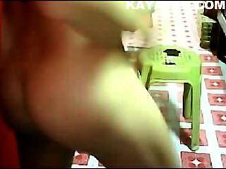Hermosa pinay en la webcam tan caliente