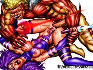 Famoso hentai estrellas sexo anal
