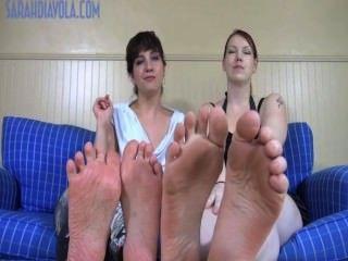 Pies enormes pies diminutos