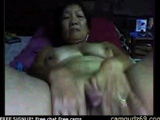 Amateur asiática abuelita en cámara voyeur sex cam cam