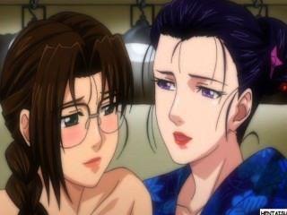 Hentai lezzy chicas teniendo sexo y se registra
