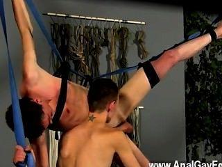 Película gay de con su bootie dedos y jugó con él, pronto se ht