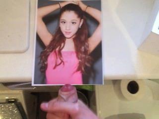 Ariana cum tributo hd