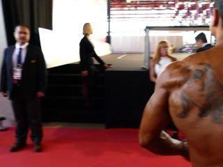 Toros musculares entre bastidores: arnold amateur europe 2014