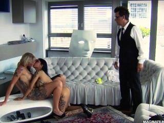 Magma película lesbianas asiática y tetona rubia alemán babes lamiendo coño