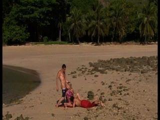 Lesbianas en la playa