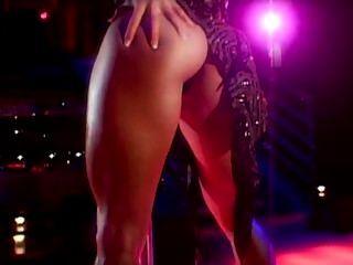 Danza del polo del striptease del arte erótico