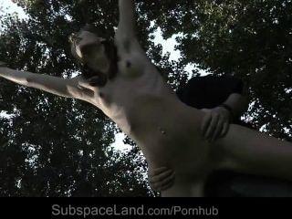 Sexy slave aspen aspen atado y explotado para la esclavitud fantasía