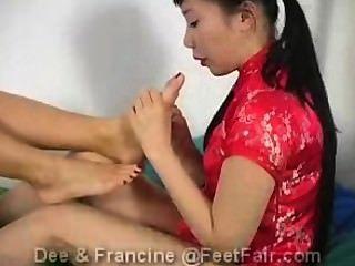Pies justos dee y francine parte 1