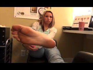 Chica del pie