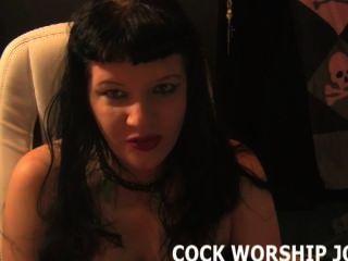 Usted necesita trabajar en sus habilidades de adoración de la polla
