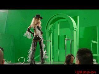 Jessica alba pelando detrás de las escenas pantalla verde de la ciudad del pecado 2