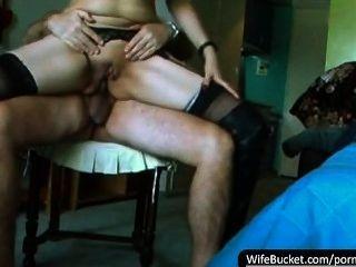 Compilación de videos caseros de sexo de esposas sucias