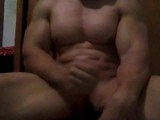 Músculo tipo haciendo el masturbarse