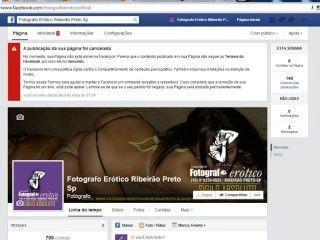 Aviso facebook denuncia do facebook fotografo erótico ribeirío preto sp