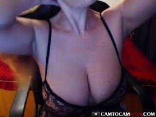 Bonita tetas grandes webcam amateur