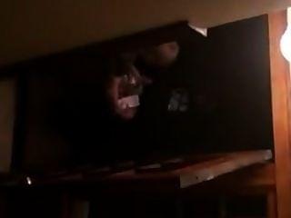 Sexo sucio en las escaleras