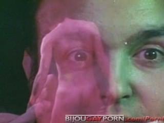 Fantasía del sexo del club de la tira del vintage (tira cuadrada de los tiempos, 1983)