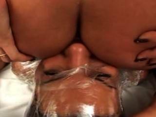 Fart bondage plastic victoria sanchez
