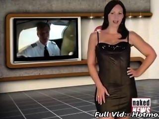 Victoria sinclair presenta aerolíneas americanas en noticias desnudas hotmoza.com
