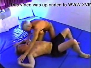 Stacie star wrestles with her new toy sebastian 9