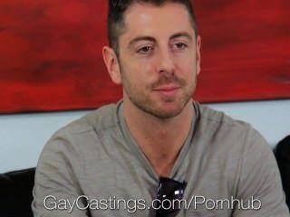 Hd gaycastings michael folla por primera vez en la cámara
