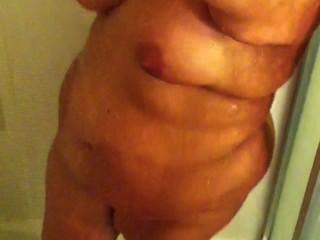 Mi esposa en la ducha