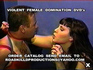 Violenta dominación femenina