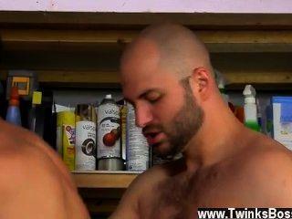 Caliente gay david le gusta a sus hombres varoniles!