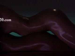 Sudorosas lesbianas calientes disfrutando de la correa