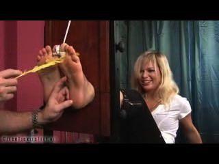 Czech tickling martina