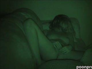 Masturbación en cámara oculta