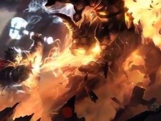 Orc obtiene jodido por enano
