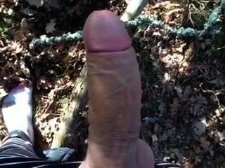 Adolescente, masturbándose, colorido, calcetines