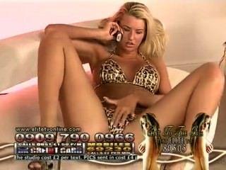 D @ nica thrall más caliente bikini leopardo en elite noches