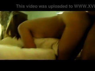Myanmar pareja follando en la habitación del hotel 1