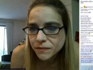 Chica sexy flaca webcam bíceps axilas