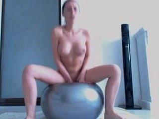 Mejor manera de usar la bola de fitness