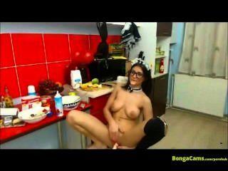 Espectáculo erótico de la criada