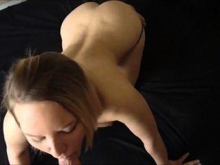 Sexo anal pov cumming en su culo