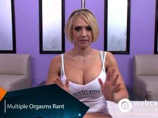 Orgasmos múltiples, kagney karter