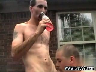 Sexy joe obtiene un gran pito en su culo