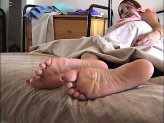 Uñas de los pies largas