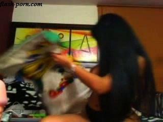 Morena de pelo largo webcam flash porn.com