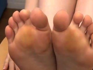 Los pies del uehara del ai tease