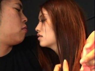 Adolescente asiático se la follan y creampie