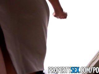 Propertysex sexy asian agente de bienes raíces engañado en hacer sexo video