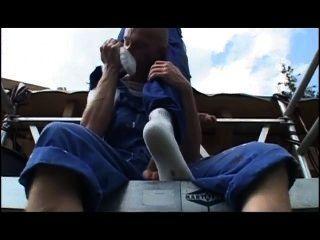 Un chantier bien chaud zapatillas
